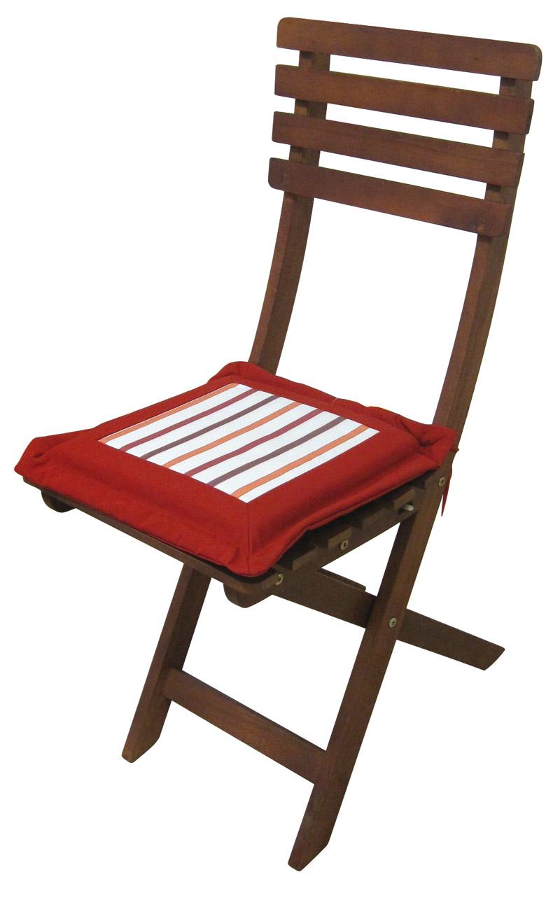 Cuscino per seduta 37x37x4 cm - colore blu - KaleidoStore.it
