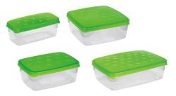 Contenitore freezer-microonde mod. piccolo cm. 18x9x7 h lt. 0,6