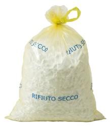 """SACCO RIFIUTI """"LACCIOSAC FAMIGLIA"""" 20 PZ.55X75 GIALLO"""