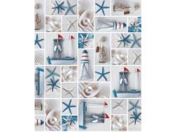 TOVAGLIATO IN PVC FANTASTIK 708-1  Rotolo cm.140 (H) x 20 mt (L)