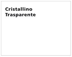 TOVAGLIATO CRISTALLINO TRASPARENTE MTL.50
