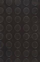 COPRIPAVIMENTO BOLLATO IN GOMMA NERO  Rotolo mtl. 15x1,25 (H)