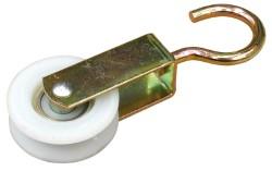 Carrucola per stendibiancheria con ruote nylon - diametro mm.50