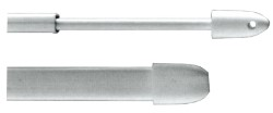 STANGHETTA ALLUNGABILE PIATTA 11X400 (CF.2PZ)