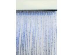 TENDA IN PVC GLITTER cm. 100x220 col. Argento