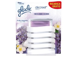 GLADE DEODORANTE ELETTRICO DISCREET