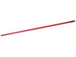 MANICO PER SCOPA colore Rosso cm. 120