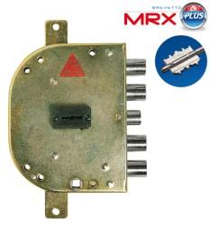 SERRATURA DOPPIA MAPPA - TRIPLICE CON SCROCCO 2155 DX - MRX - CR