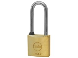 YALE LUCCHETTO OTTONE ARCO LUNGO 30 MM