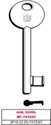 Silca CHIAVE A MAPPA 6P1S (G.VAZ 0) PATENT AGB, CORNI, MP, PATENT