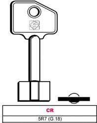 CHIAVE GREZZA A POMPA 5R7 (G.18) - CR - SILCA
