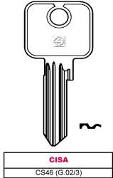 CHIAVE ASC CS46 (G.02/3)