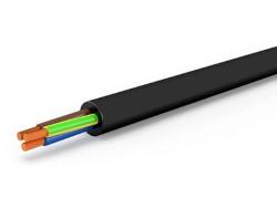 Cavo elettrico h05vv-f 2x0,75 mt 100 nero