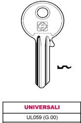 CHIAVE OTTONE UL059 (G.01)