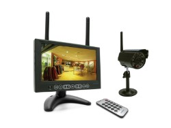 KIT IP C/MONITOR + VIDEOCAMERA