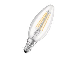 OSRAM LAMPADE A LED RETROFIT FILAMENT - CANDELA E14 4W LUCE CALDA