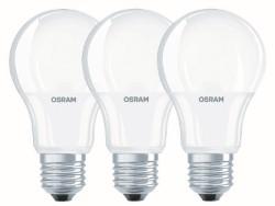 LAMPADA LED GOCCIA 9,5W E27 PZ.3 CALDA - OSRAM