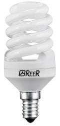 REER LAMPADA A RISPARMIO ENERGETICO E14 SPIRALIZZATA 11W CALDA MICRO