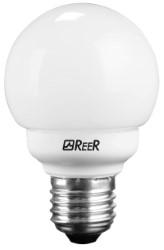 REER LAMPADA A RISPARMIO ENERGETICO E27 GLOBULARE 13W CALDA MICRO