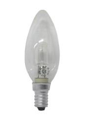Reer lampadina oliva alogena e14 20w