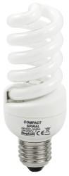 Beghelli LAMPADA RISPARMIO ENER. SPIRALE E27  luce calda 20 W