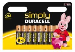 DURACELL SIMPLY STILO BLISTER 8 PZ