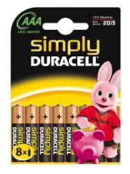 Duracell simply ministilo blister 8 pz