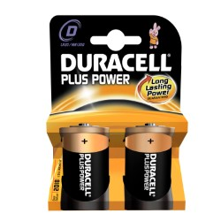 DURACELL PLUS POWER TORCIA BLISTER 2 PZ
