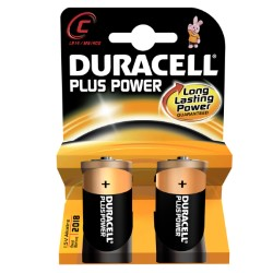 Duracell plus power 1/2 torcia blister 2 pz