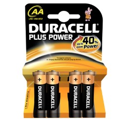 DURACELL PLUS POWER STILO BLISTER 4 PZ