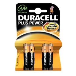 Duracell plus power ministilo blister 4 pz