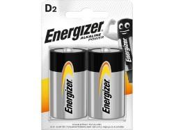 Energizer PILA ALCALINA SERIE ALKALINE POWER 2 PZ. TORCIA 1,5V