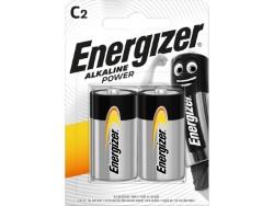 Energizer PILA ALCALINA SERIE ALKALINE POWER 2 PZ. MEZZA TORCIA 1,5V