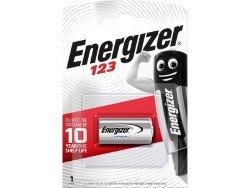 ENERGIZER PHOTO LITIO EL123AP BLISTER 1 PZ