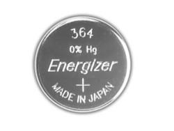 Energizer PILA SILVER OXIDE SPECIALISTICA BOTTONE 364/363 MD Ø mm. 6,8x2,1 h