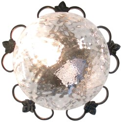 Plafoniera edera diametro 25 cm.