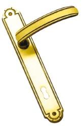 MANIGLIA MAYA CON PLACCA QUADRO 8  foro Patent - dist. 90