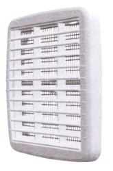 GRIGLIA AERAZIONE CON RETE MM.210X210