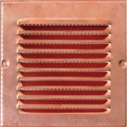 GRIGLIA AERAZIONE MM.140X140 RAME