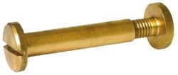 VITE A CANNOCCHIALE OTTONE MISURA 6x30