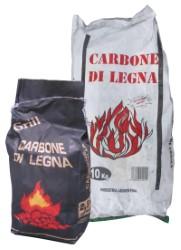 CARBONE DI LEGNA ARGENTINO  sacco da kg. 2,5 circa