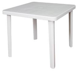 TAVOLO NETTUNO cm. 80x80x72 h col. Bianco