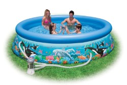 INTEX PISCINA EASY 305X76 OCEAN CON POMPA