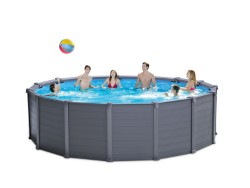 INTEX PISCINA TONDA ''FRAME SEQUOIA SPIRIT