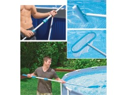 INTEX KIT PULIZIA PISCINA DELUXE MAX CM.549