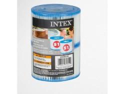 INTEX CARTUCCIA FILTRO PER PISCINA COD.38385 - 2 PEZZI