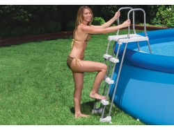 INTEX SCALETTA PER PISCINA SAFETY H.91-107 SENZA PIATTAFORMA