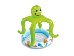 INTEX PISCINA TONDA BABY OCTOPUS CM. 102X104 H