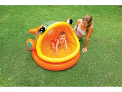 INTEX PISCINA BABY FISH CM.124X109X71