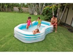 Intex piscina family swim center cabana cm. 310x188x130 h
